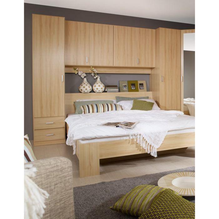 ensemble lit et environnement pont omega 160 achat vente structure de lit cadeaux de. Black Bedroom Furniture Sets. Home Design Ideas