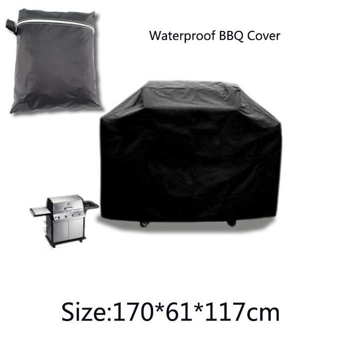 Housse b che couverture barbecue grill gaz 170 61 117cm for Housse barbecue gaz