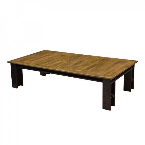 Table basse profile rectangle achat vente table basse - Table basse c discount ...