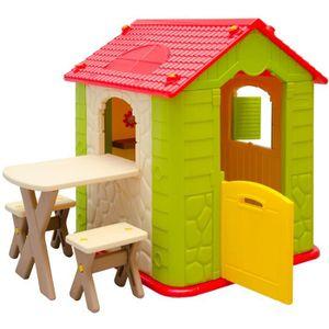 maisonnette enfant plastique achat vente jeux et jouets pas chers. Black Bedroom Furniture Sets. Home Design Ideas