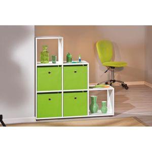 meuble vert pomme achat vente meuble vert pomme pas cher cdiscount. Black Bedroom Furniture Sets. Home Design Ideas