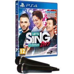 JEU PS4 Let's Sing 2017 + 2 micros Jeu PS4