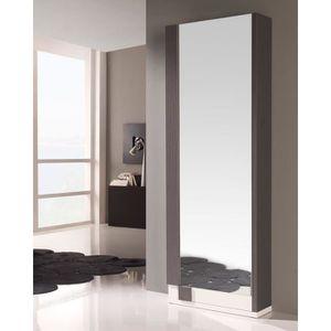 meuble chaussures couleur gris achat vente meuble. Black Bedroom Furniture Sets. Home Design Ideas