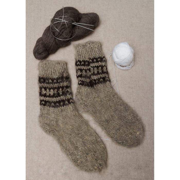 chaussettes en laine pour homme faites main gris achat vente chaussettes 2009919082945. Black Bedroom Furniture Sets. Home Design Ideas