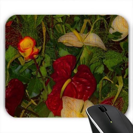 tapis de souris fleurs de jardin tonnants 17 prix pas cher cdiscount. Black Bedroom Furniture Sets. Home Design Ideas