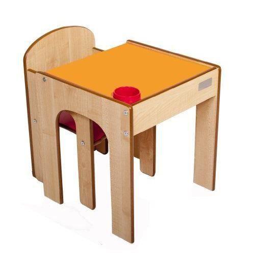 Little helper en semble bureau et chaise en bois pour - Bureau en bois pour enfant ...