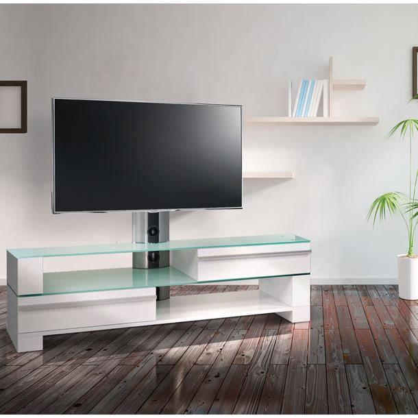 meuble tv 140 cm kc 140h sww achat vente meuble tv meuble tv 140 cm kc 140h sww cdiscount. Black Bedroom Furniture Sets. Home Design Ideas