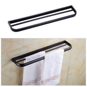 Porte serviette noir salle de bain achat vente porte - Porte serviette salle de bain pas cher ...
