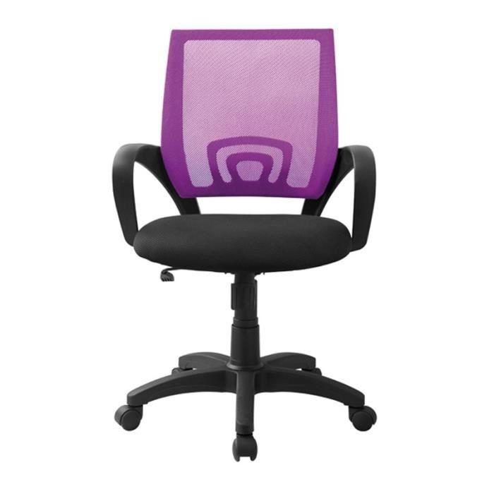 Fauteuil de bureau violet darwin achat vente chaise de bureau cdiscount - Cdiscount fauteuil de bureau ...