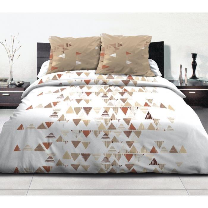 parure de lit achat vente parure de lit pas cher les soldes sur cdiscount cdiscount. Black Bedroom Furniture Sets. Home Design Ideas
