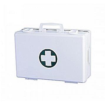 malette de premiers secours murale plastique blanc achat vente armoire pharmacie malette. Black Bedroom Furniture Sets. Home Design Ideas