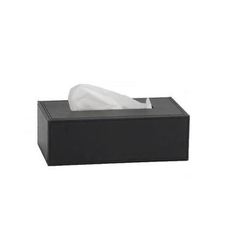 Bo te mouchoirs design pu noir achat vente - Boite a mouchoirs maison ...