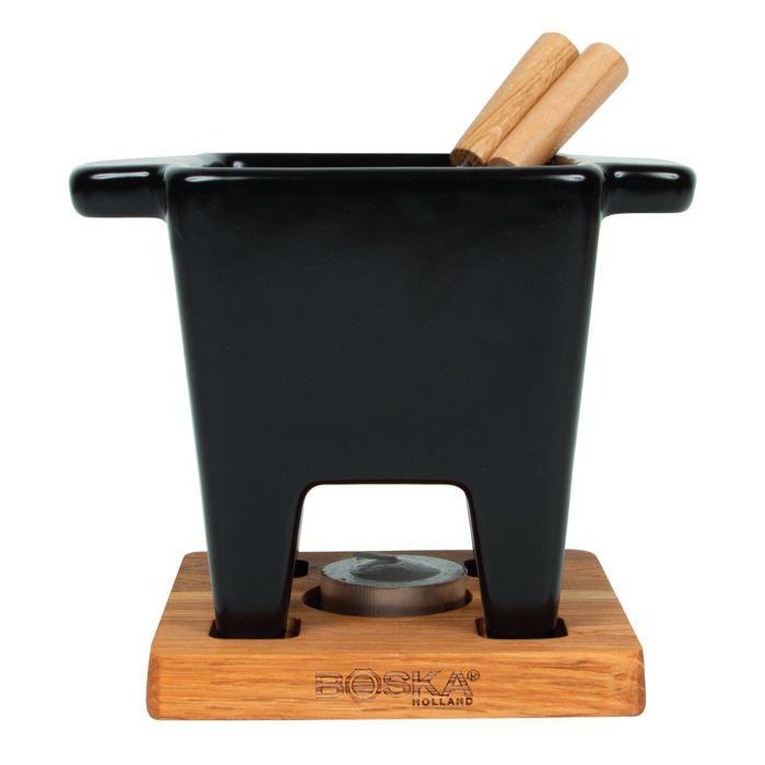 service fondues au fromage boska tapas achat vente service fondue prix de folie. Black Bedroom Furniture Sets. Home Design Ideas