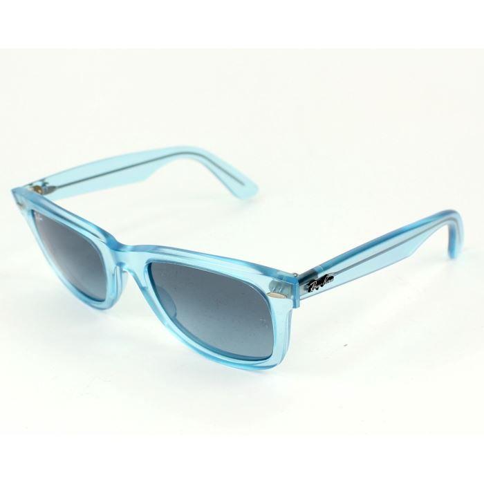 lunettes de soleil ray ban rb2140 bleu transpar bleu transparent achat vente lunettes de. Black Bedroom Furniture Sets. Home Design Ideas