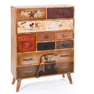 commode vintage cdiscount