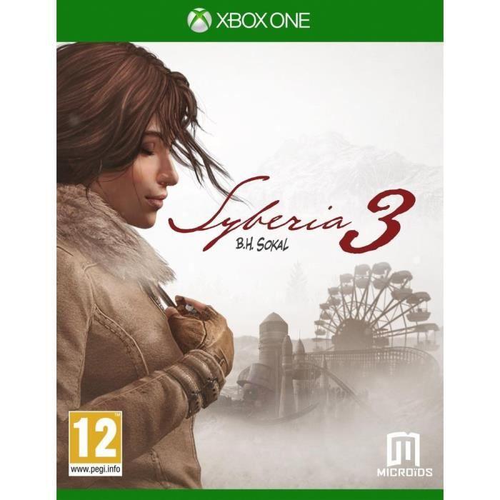JEUX XBOX ONE Syberia 3 Jeu Xbox One