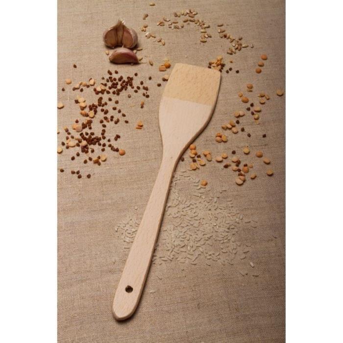 Spatule de cuisine en bois achat vente spatule - Ustensile de cuisine maryse ...