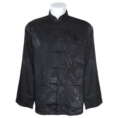 chemise col mao ta chi noire xxxl noir achat vente tunique 2009978753947 cdiscount. Black Bedroom Furniture Sets. Home Design Ideas