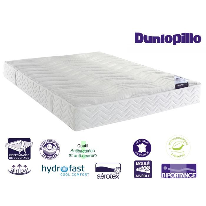 matelas side luxe 21cm 140 x 190 dunlopillo achat. Black Bedroom Furniture Sets. Home Design Ideas