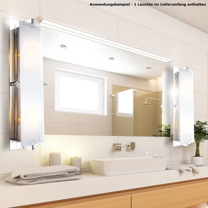 Applique luminaire mural clairage salle de bains couloir for Salle de bain eclairage