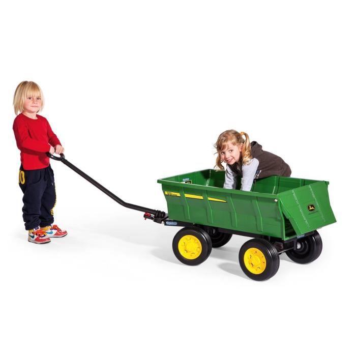 john deere remorque pour tracteur farm wagon achat. Black Bedroom Furniture Sets. Home Design Ideas