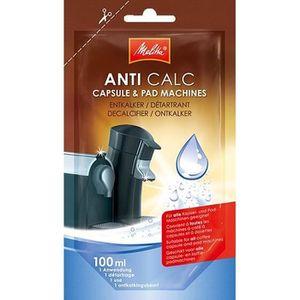 MELITTA Détartrant liquide ANTI CALC pour machines ? dosettes