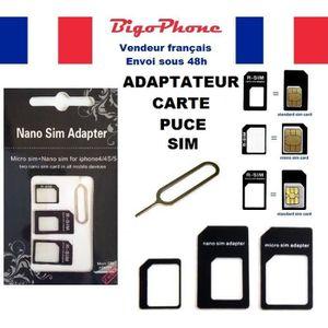 adaptateur carte sim pour tablette achat vente adaptateur carte sim pour tablette pas cher. Black Bedroom Furniture Sets. Home Design Ideas