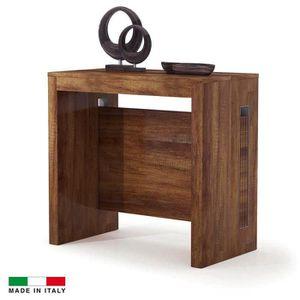 console extensible achat vente console extensible pas cher cdiscount. Black Bedroom Furniture Sets. Home Design Ideas