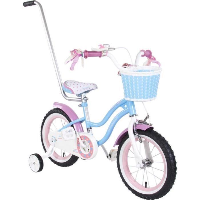 velo enfant a pedale retro 14 4 7 ans bleu achat vente v lo enfant velo enfant a. Black Bedroom Furniture Sets. Home Design Ideas