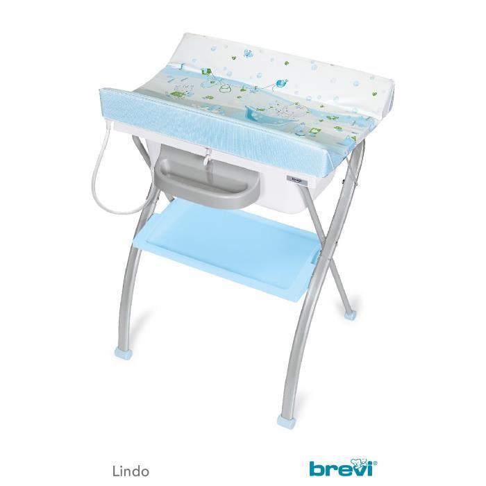 Lindo table langer pliante plouf ciel multicolore achat vente table - Table a langer cdiscount ...