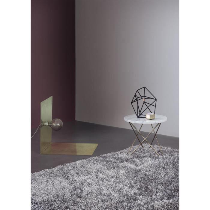 linie design tapis visible gris 150 cm rond achat vente tapis cadeaux de no l cdiscount. Black Bedroom Furniture Sets. Home Design Ideas
