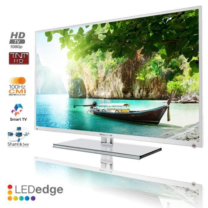 thomson 46fu5553w smart tv 117 cm t l viseur lcd avis et prix pas cher soldes cdiscount. Black Bedroom Furniture Sets. Home Design Ideas
