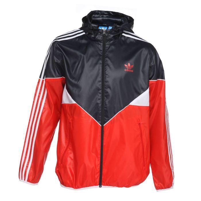 adidas veste movement homme marine rouge et blanc achat vente veste adidas veste movement. Black Bedroom Furniture Sets. Home Design Ideas