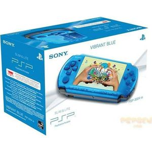 CONSOLE PSP CONSOLE SONY BASE PACK PSP 3000 BLEUE