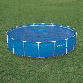 B che solaire piscine diam 521 bestway achat vente for Bache solaire piscine