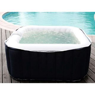 Spa gonflable ospazia cube 2 places 158 x 158cm achat vente spa complet - Spa gonflable discount ...