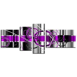 Tableaux violet achat vente tableaux violet pas cher cdiscount - Vente tableau pas cher ...