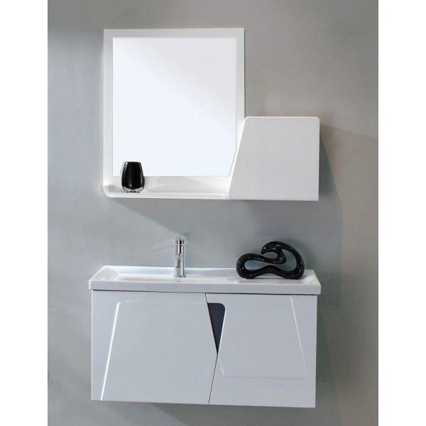 Meuble de salle de bain meuble suspendu 90 cm achat for Meuble tele 90 cm