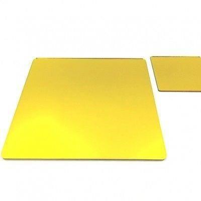 6 miroir jaune napperons carr s et sous verres achat for Miroir acrylique incassable