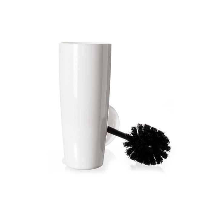 brosse de toilette blanche cm achat vente serviteur wc brosse de toilette. Black Bedroom Furniture Sets. Home Design Ideas