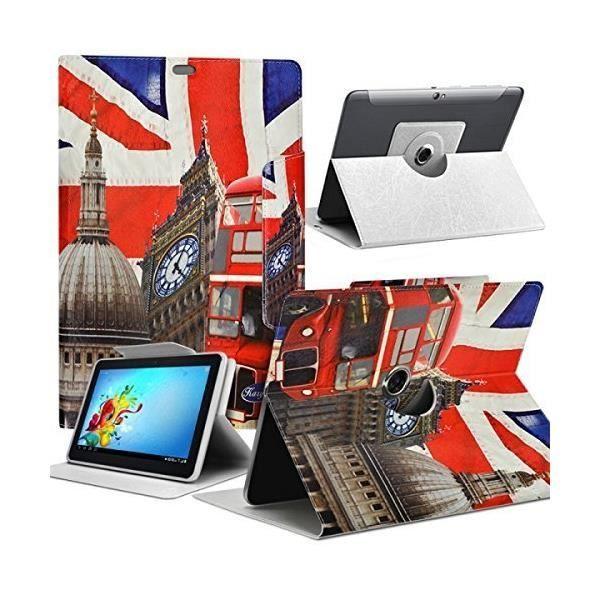 informatique accessoires tablettes tactiles housse etui motif za universel l pour tablette a f  kar