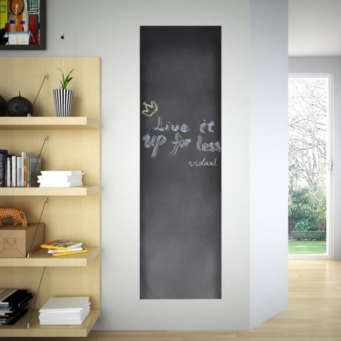 tableau autocollant avec craies toile murale 0 6. Black Bedroom Furniture Sets. Home Design Ideas