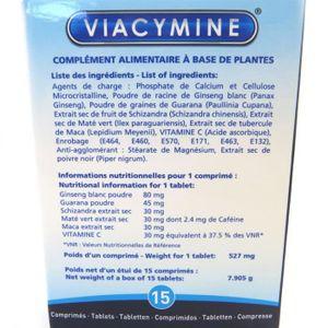 """Les Trésors De Lily [M3895] - Stimulant homme """"Viacymine"""" 15 comprimés"""