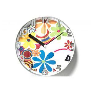 HORLOGE Horloge hippie blanche