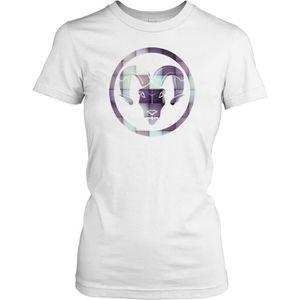 T-SHIRT Femmes t-shirt DTG Print - Aries Ram - Zodiac - Wo