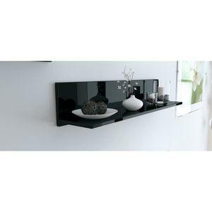 Etagere murale noire laquee achat vente etagere murale noire laquee pas c - Etagere murale noire laquee ...