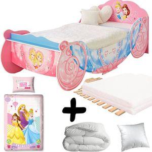 lit enfant 90x190 fille achat vente lit enfant 90x190 fille pas cher cdiscount. Black Bedroom Furniture Sets. Home Design Ideas