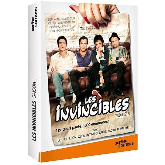 dvd les invincibles saison 1 en dvd s rie pas cher cdiscount. Black Bedroom Furniture Sets. Home Design Ideas