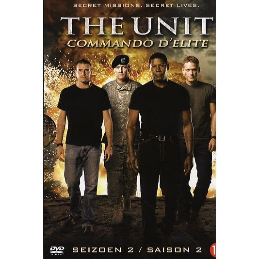 DVD SÉRIE THE UNIT COMMANDO D'ELITE Saison 2, L'intégrale 6