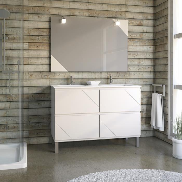 s5023 salle de bains compl te achat vente salle de. Black Bedroom Furniture Sets. Home Design Ideas